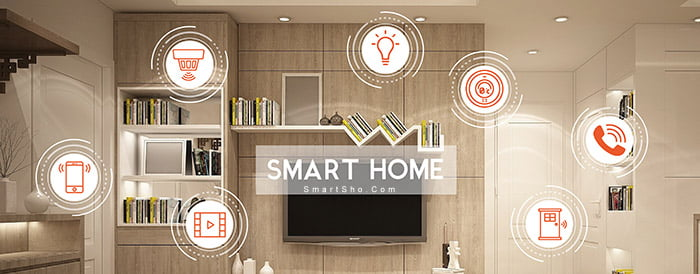 قسمتهای مختلف یک خانه هوشمند